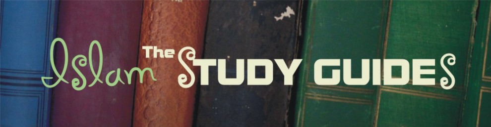 Islam: The Study Guides Resources for systematic study of key Islamic books as well as articles containing encouragement and scholarly advice about how to learn
